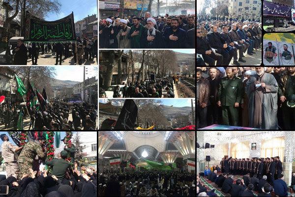اقامة مراسم العزاء بذكرى استشهاد الزهراء (س) في جميع انحاء ايران