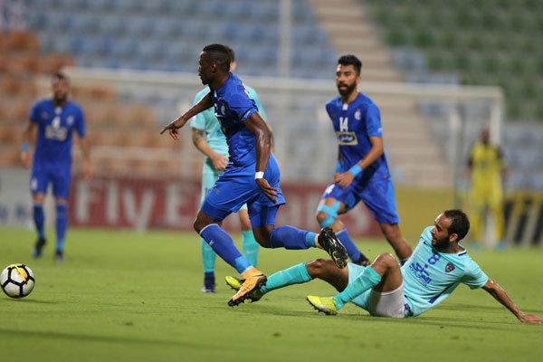 دیدار تیم های فوتبال استقلال و الهلال