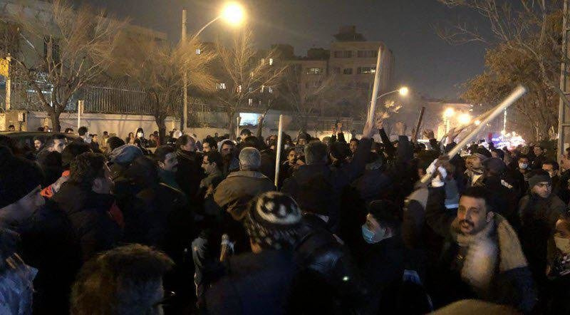 Three Iranian Police Reported Killed In 'Sufi Protest'