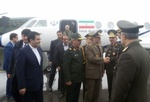 Iranian MinDef arrives in Baku