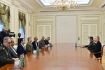 علیاف:توسعه روابط با ایران در زمینه صنایع نظامی موفقیتآمیز بود