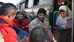 5 medical cases evacuated from  Al-Fu'ah, Kafriya with their families