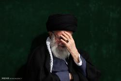 """İslam Devrimi Lideri """"Kerbela matemi"""" törenine katıldı"""