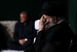 اقامة مراسم العزاء الحسيني بمشاركة قائد الثورة الاسلامية