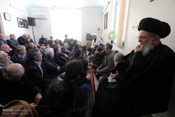 آیت اللہ موسوی زنجانی کے گھر میں حضرت زہرا (س) کی یاد میں مجلس شام غریباں