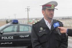 حوادث رانندگی در محورهای مواصلاتی استان سمنان ۱۵ مجروح داشت