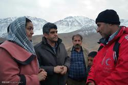 حضور عوائل ضحايا سقوط طائرة طهران-ياسوج قرب موقع الحادث / صور