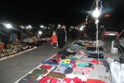 شب بازار گرگان مشتری ندارد/تقاضای دستفروشان برای تغییر مکان