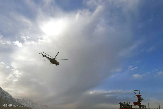 وزش باد شدید عملیات هلی برن را با سختی مواجه کرده است