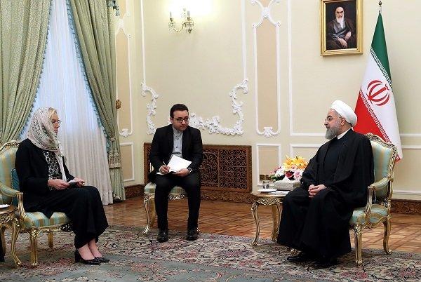 Iran's defense capability unnegotiable: Pres. Rouhani