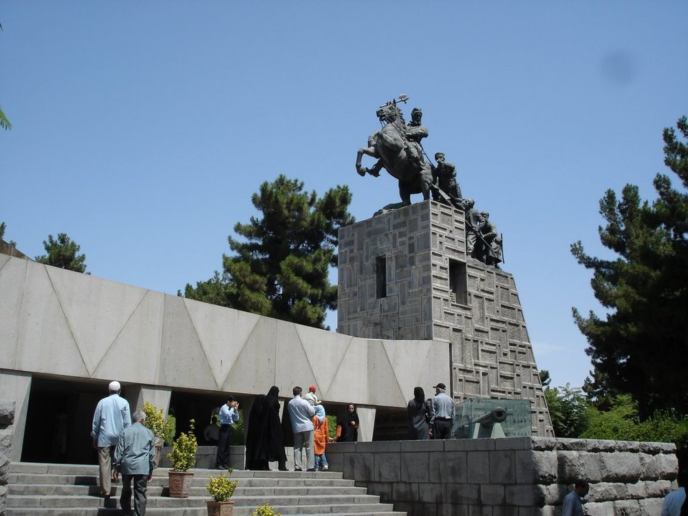 Visit Nader Shah's mausoleum in Mashhad