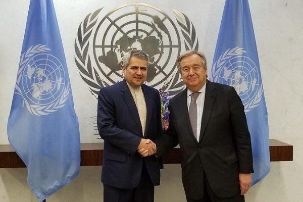 خوشرو: على المجتمع الدولي التصدي لامريكا وسياساتها المستبدة