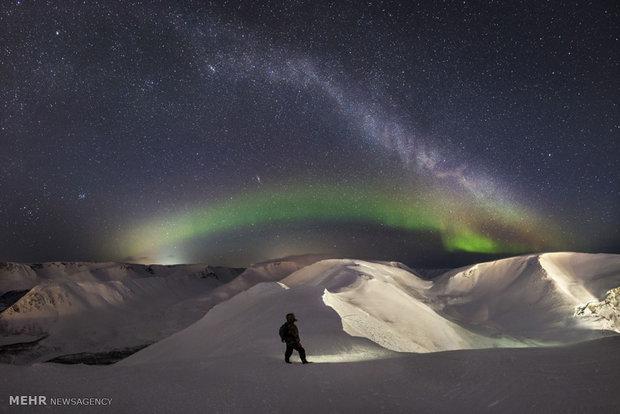 Büyüleyici Kutup ışıklarından fotoğraflar