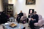 لاریجانی با خانواده شهیدان «عبوری» دیدار کرد