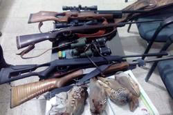 شکار غیر مجاز در دامغان - کراپشده