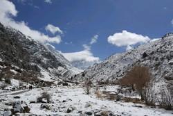 تلاش امدادگران هلال احمر فارس برای انتقال پیکر جانباختگان