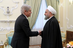 Spanish FM and Rouhani