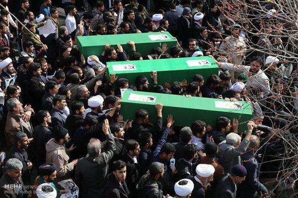 تشييع جثامين ثلاثة من شهداء المقاومة الإسلامية في البحرين / فيديو