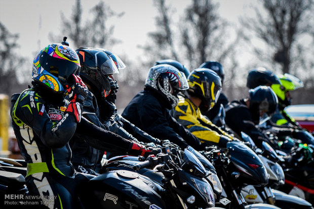 مسابقات بطولة إيران للدراجات النارية