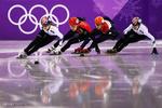 جنوبی کوریا میں سرمائی کھیلوں کا سلسلہ جاری