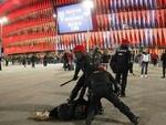 اسپین میں پتھر لگنے سے ایک پولیس اہلکار ہلاک