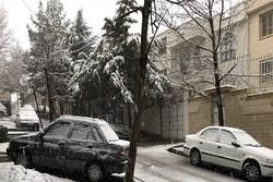 برف همدان