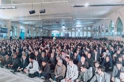 ظرفیت مصلی شهر یاسوج تکمیل شد