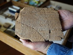 An Achaemenid-era clay tablet