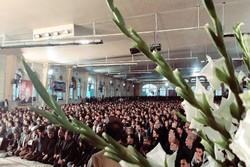 مراسم یادبود جانباختگان سانحه هوایی پرواز تهران- یاسوج برگزار شد