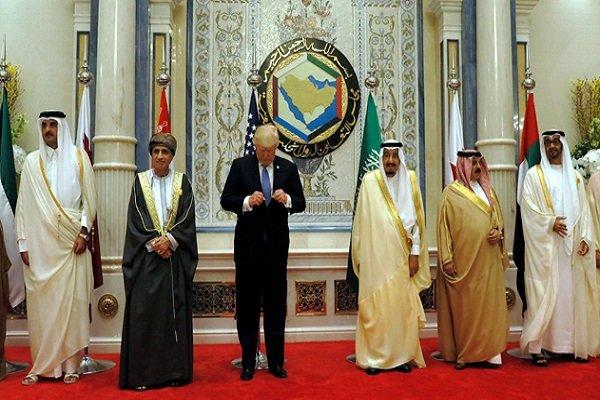 ترامپ شورای همکاری خلیج فارس