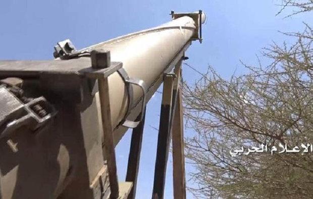 یمنی فورسز کا سعودی عرب کے فوجی ٹھکانے پر بیلسٹک میزائل سے حملہ