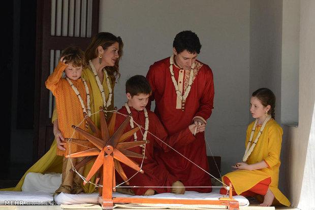 زيارةرئيس وزراء كندا للهند