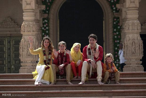 سفر نخست وزیر کانادا به هند