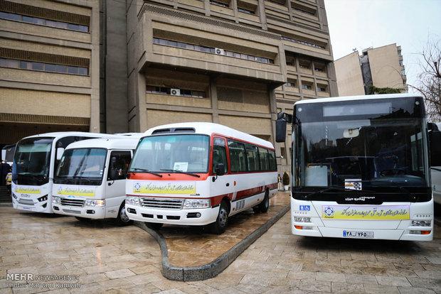 تدشين مشروع تجديد وسائل النقل والمواصلات العامة في ايران