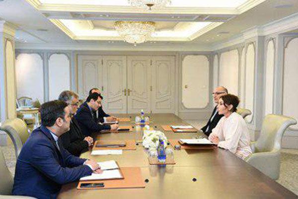 دیدار ترکمان بامعاون اول رئیس جمهور و وزیر فرهنگ جمهوری آذربایجان