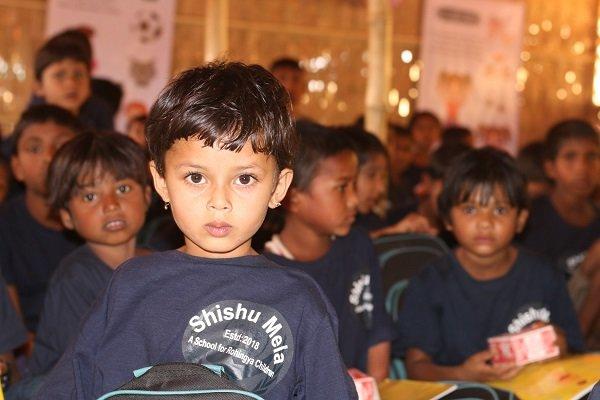 اولین مدرسه ایرانی در کمپ آوارگان میانماری شروع به کار کرد