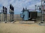 ترانس ۱۲۰ مگاولت آمپری در پست اصلی آبادان نصب شد