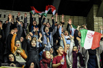 دیدار تیم های ملی بسکتبال ایران - عراق
