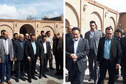وزیر گردشگری عمان از سرای سعدالسلطنه قزوین بازدید کرد