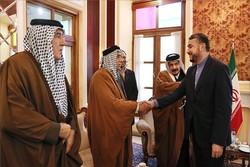 عبداللهيان يستقبل شيوخ عشائر أهل السنة في العراق