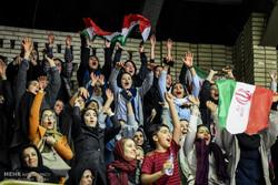 "İran-Irak maçına ""kadın seyirci"" sürprizi"