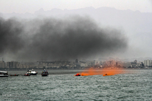 Maritime search, rescue exercise in Persian Gulf