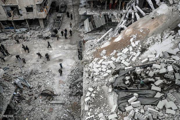 معركة الغوطة الشرقية وصراع القوى الإستعمارية