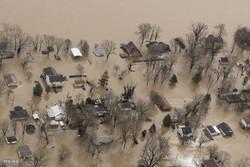 خسارات سیل در آمریکا