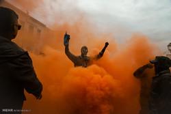 یونان میں رنگی پوڈروں کا فیسٹیول