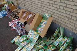 کشف ۶۰۰۰ عدد انواع مواد محترقه در گرگان/ ۲ نفر دستگیر شدند