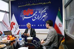 السفير الصربي في طهران يزور مقر وكالة مهر للأنباء /صور