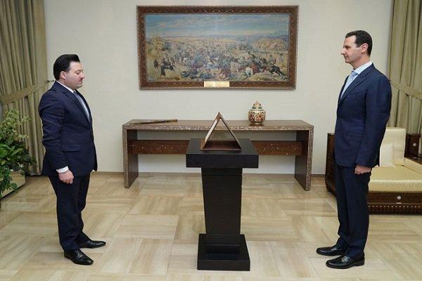 استاندارهای جدید سوریه در مقابل بشار اسد سوگند یاد کردند