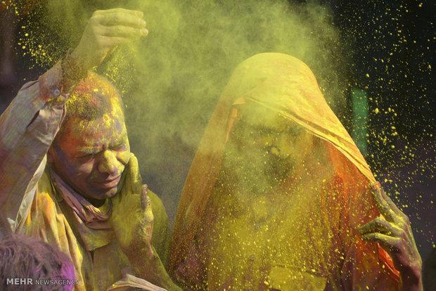"""مهرجان """"هولي"""" في الهند"""
