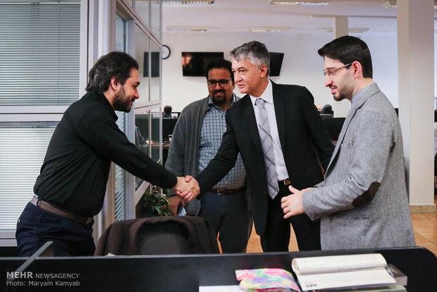 Serbian amb. visits MNA HQ